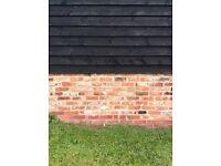 Reclaimed Cambridgeshire/Hertfordshire multicolour Handmade bricks