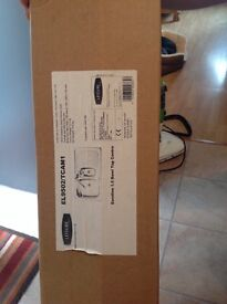 Stainless steel sink and taps brand new in box