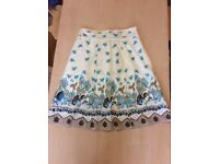 Knee length a-line skirts size 10uk and M
