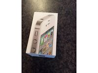 APPLE IPHONE 4S 16gb White phone boxed like new unlocked and reset
