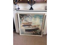 Framed picture 76cm x 76cm £10