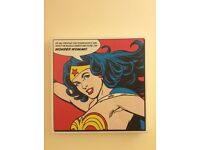 Wonder Woman Pop art canvas wall print