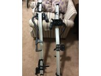 Thule Roof Carrier Kit For 2 Bikes - Thule ProRide 591 for Bikes and Thule 962 Roof Rack Wing Bars
