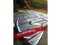 Great starter set , high 240 l volume, three sails and extras
