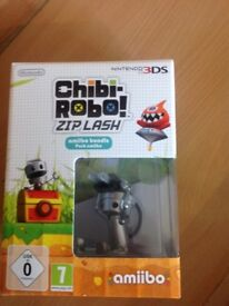 Nintendo 3ds limited edition chibi robo game