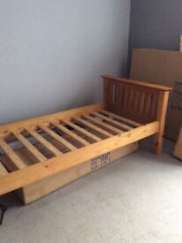 Single Bed (without mattress)