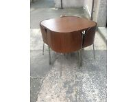 Ikea Fusion Table and Chairs, Dark brown