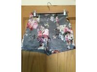 Ladies River Island high waisted shorts size 8