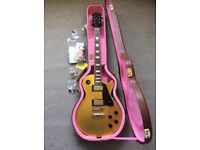 Epiphone Les Paul Gold Top - Joe Bonnamassa LImited Edition. Excellent. 2011