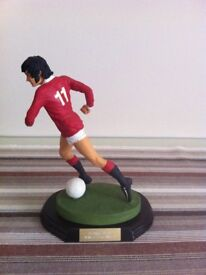 George Best Rare Ceramic Figure - An Amazing Piece Of Memorabilia