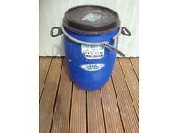 Water tight barrel