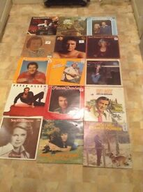 Collection of 56 classic and modern country lps