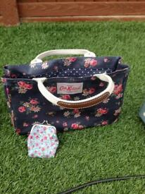 Cath kidston bag and purse mint condition