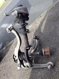 2012 Audi A4 b8 front suspension