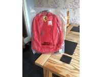 Ferrari backpack,satchel, rucksack,schoolbag