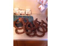 USED HORSE SHOES,