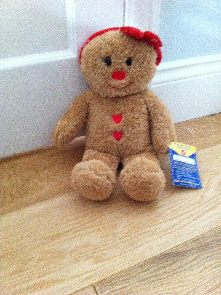 Brand New. Gingerbread girl from Build a bear .