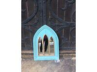Arch ,wood mirror