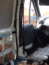 Ford transit mk6-7 seat belt