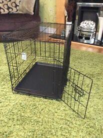 Single door small pet cage