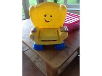 Fisher price talking chair baby/toddler Christmas present