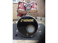 Sonor Drum Set 1990s - Force 3000 (Made in Germany)- Rare opportunity!