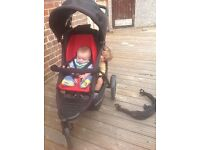 Phil&Ted explorer buggy with double kit