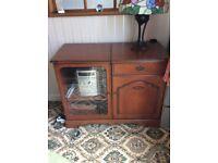 Rossmore cherrywood hiring/stereo cabinet