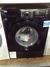 Beko 7kg 1400 spin A+++ black washing machine. £210 new/graded 12 month Gtee