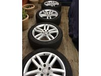 Audi alloy wheels and tyres from Audi Q7 20 inch