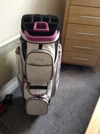 Ping rhapsody cart bag