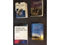 Selection of legal / law books for sale