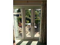 House Alteration forces sale of nealy new French doors unit