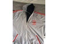 Reversible addias jacket