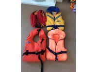 Wet suits / buoyancy aids