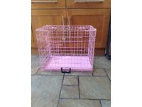 SMALL DOG CAGE/ CRATE
