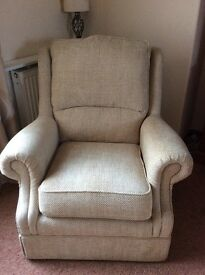 3 Armchairs (1 recliner)