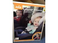 Joie i-anchor advanced car chair plus isofix