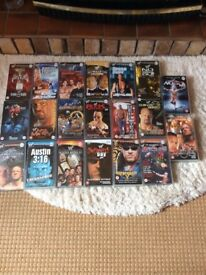 20 WWF vhs video tapes