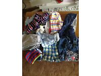 Large Bundle of Boys Baby Clothes Age 0-18m