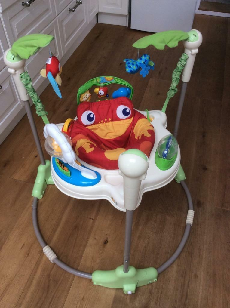 b8474f9fa Fisher-price Rainforest Jumperoo Baby Bouncer Instructions