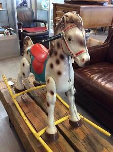 MOBO Steel Rocking Horse From The 1950's