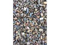 20 mm riverbed garden and driveway chips/stones/gravel