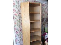 Ikea Billy bookcase corner unit. FREE