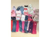 Girls clothes bundle for 18-24 month toddler