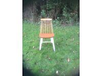 Pine kitchen chair