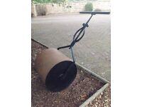 Old vintage garden roller