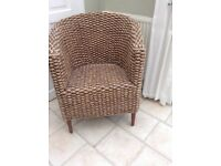 Beautiful seagrass chair