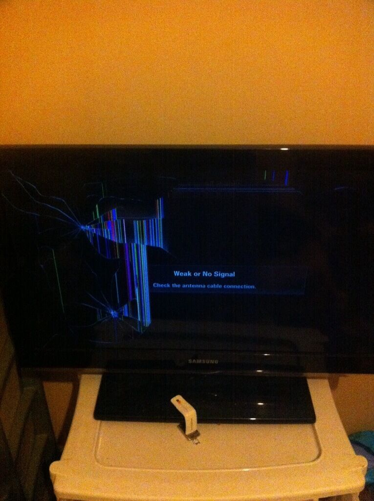 Broken 32 Inch Samsung Tv Open To Offers In Liverpool Merseyside