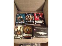 Doctor Who boxsets series 1-8